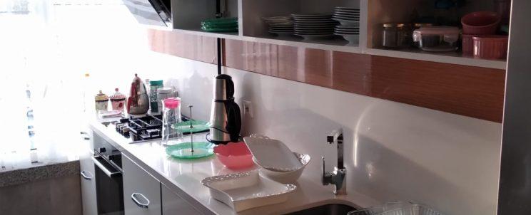 Katlanır Kapaklı Lüks Mutfak Dolabı